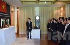 Lễ viếng nguyên Thủ tướng Phan Văn Khải tại Thái Lan và Indonesia