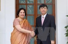 Tham khảo Chính trị và Đối thoại Chiến lược Việt Nam-Ấn Độ
