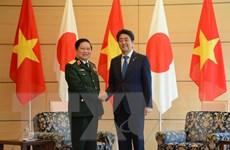 Bộ trưởng Bộ Quốc phòng Ngô Xuân Lịch làm việc tại Nhật Bản