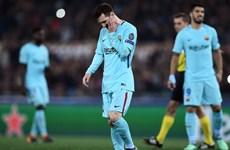 Video cận cảnh Barcelona cay đắng chia tay Champions League