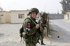 [Video] Nga thông báo triển khai lực lượng quân cảnh tới Syria