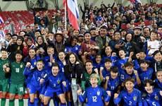 Đánh bại Philippines, đội tuyển nữ Thái Lan giành vé dự World Cup