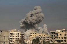Hệ thống phòng thủ Syria bắn hạ tên lửa của Mỹ, Anh và Pháp