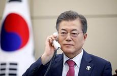 Lãnh đạo Nhật-Hàn điện đàm về cuộc gặp thượng đỉnh liên Triều