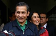 Tòa án Hiến pháp Peru cho cựu Tổng thống Ollanta Humala tại ngoại