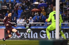 Messi tỏa sáng, Barcelona đăng quang La Liga sớm 4 vòng đấu