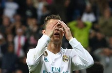 Cristiano Ronaldo bỏ lỡ cơ hội 'không tưởng' ở trận gặp Bayern Munich