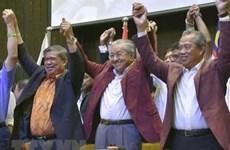 Lãnh đạo thế giới chúc mừng tân Thủ tướng Malaysia Mahathir Mohamad