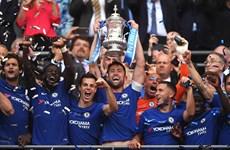 """Hazard """"hạ"""" Manchester United, Chelsea lần thứ 8 đăng quang FA Cup"""