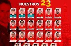 Tây Ban Nha chính thức chốt danh sách dự VCK World Cup 2018