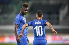 Balotelli 'nổ súng' giúp Italy thắng trận đầu dưới thời Mancini