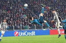 Cận cảnh top 10 bàn thắng đẹp nhất Champions League 2017-18