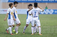 Công Phượng 'hạ' FLC Thanh Hóa, HAGL lên tốp 4 V-League 2018