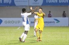 Kết quả vòng 10 V-League: HAGL gây sốc, Hà Nội FC đánh bại SLNA