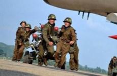 Triều Tiên tập trận quân sự quy mô lớn trên Biển Nhật Bản