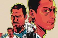 """Poster """"cực chất"""" về các đội tuyển tham dự VCK World Cup 2018"""