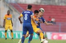 V-League: Hải Phòng hạ Thanh Hóa, Nam Định chưa thoát đáy bảng