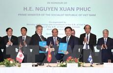 Thủ tướng Chính phủ chứng kiến lễ trao các biên bản ghi nhớ hợp tác