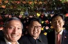 Cận cảnh Nhà lãnh đạo Kim Jong-un khám phá Singapore về đêm