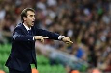Julen Lopetegui chính thức ngồi vào 'ghế nóng' tại Real Madrid
