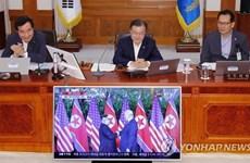 Tổng thống Hàn Quốc ca ngợi sự dũng cảm của lãnh đạo Mỹ, Triều Tiên