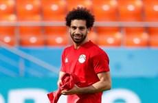 Salah bình phục chấn thương, sẵn sàng cùng Ai Cập 'chiến' Uruguay