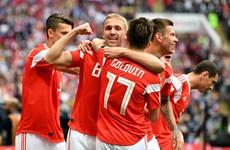 Nga-Saudi Arabia 5-0: Chủ nhà khởi đầu World Cup 2018 hoàn hảo