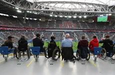 World Cup 2018 dành ưu tiên tuyệt đối cho người tật nguyền