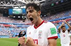 Tuyển Iran gây sốc với chiến thắng ở trận ra quân World Cup 2018