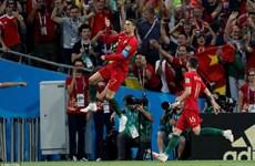 Cận cảnh Ronaldo lập hat-trick vào lưới đội tuyển Tây Ban Nha