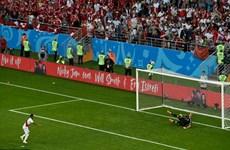 Công nghệ VAR cũng không thể giúp Peru thoát thua trước Đan Mạch
