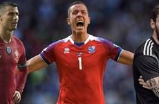 Thống kê khó tin về Ronaldo và Messi khi đối đầu Iceland