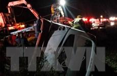 Tai nạn xe buýt nghiêm trọng tại Mexico, 7 người thiệt mạng