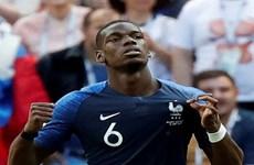 Paul Pogba bị tước bàn thắng trong trận Pháp thắng Australia