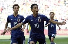 Hình ảnh đáng nhớ trong chiến thắng của Nhật Bản trước Colombia