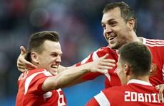 Đội tuyển Nga thiết lập nên kỷ lục mới trong lịch sử World Cup