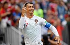 Cận cảnh Ronaldo lập công giúp Bồ Đào Nha đánh bại Maroc