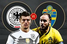 Trước trận Đức vs Thụy Điển: Chiến thắng sẽ quyết định tất cả