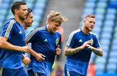 Nhiều cầu thủ Thụy Điển bị đau bụng trước trận gặp tuyển Đức