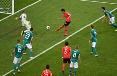 Xem lại 6 phút bù giờ định mệnh của trận Đức - Hàn Quốc 0-2