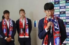Đánh bại Đức, cầu thủ Hàn Quốc trở về trong tư thế người hùng