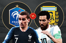 Lịch thi đấu chi tiết các trận tại vòng 1/8 World Cup 2018