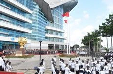Hong Kong tổ chức thượng cờ nhân kỷ niệm 21 năm thành lập Đặc khu