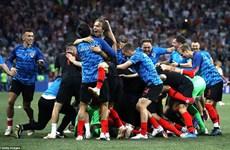 Đánh bại Đan Mạch ở màn 'đấu súng,' Croatia đối đầu Nga ở tứ kết