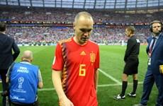 Andres Iniesta chính thức tuyên bố giã từ đội tuyển Tây Ban Nha