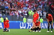 Tuyển Tây Ban Nha đối diện với kỷ nguyên 'đen tối' sau thất bại sốc