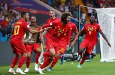 Bỉ giành vé tứ kết sau màn ngược dòng không tưởng trước Nhật Bản