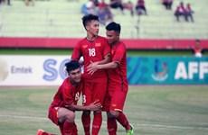 Cận cảnh chiến thắng đậm của U19 Việt Nam trước U19 Lào