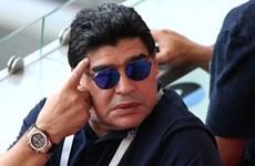 Huyền thoại Diego Maradona gọi trọng tài Geiger là 'kẻ cướp'