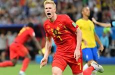 Người hùng của 'Quỷ đỏ' nói gì sau khi đánh bại đội tuyển Brazil?